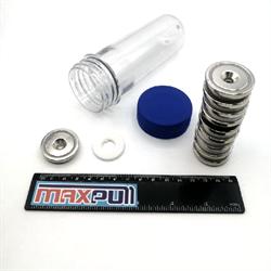 Магнитные крепления с зенковкой A32, MaxPull, набор 10 шт. в тубе - фото 10148
