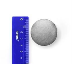 Неодимовый магнит диск 40х20 мм N45 - фото 10584