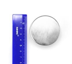 Неодимовый магнит диск 50х30 мм N45 - фото 10590