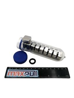 Неодимовые магниты 20х20х10 мм, прямоугольники, MaxPull, набор 10 шт. в тубе - фото 10649