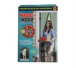 Москитная сетка на магнитах Magic Mesh (Меджик Меш) черная оригинал - фото 6721
