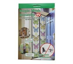 Москитная сетка с бабочками на магнитах Magic Mesh Butterfly (Меджик Меш Баттерфлай) - фото 6725