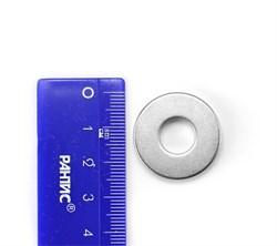 Неодимовый магнит кольцо 25-10х5 мм - фото 7151