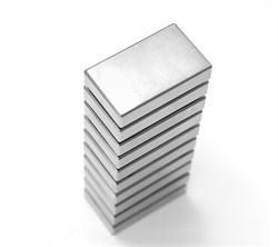 Неодимовый магнит призма 50х20х5 мм - фото 7667