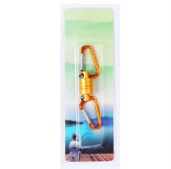 Магнитная застежка для рыбалки, цвет желтый - фото 7713
