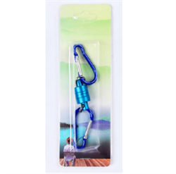 Магнитная застежка для рыбалки, цвет синий - фото 7734