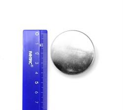 Неодимовый магнит 45х15 мм, диск, N45 - фото 7854