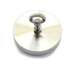 Поисковый магнит F-100, односторонний, (сила сц. 100 кг) - фото 7978