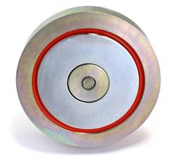 Односторонний поисковый магнит F-400 (Редмаг) - фото 8402