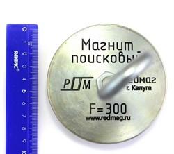 Односторонний поисковый магнит F-300 (Редмаг) - фото 8411