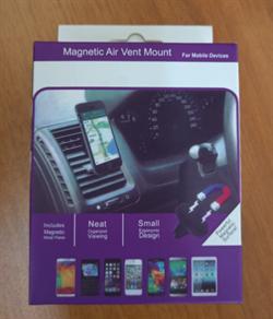 Магнитный держатель для телефона автомобильный Magnet Air Vent Mount SZ-801 - фото 8452