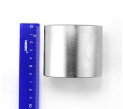 Неодимовый магнит 70х60 мм, диск - фото 8532