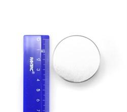 Неодимовый магнит 55х35 мм, диск - фото 8561