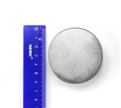 Неодимовый магнит 60х30 мм, диск - фото 8576
