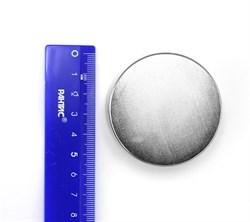 Неодимовый магнит 55х25 мм, диск - фото 8581