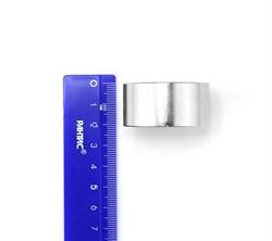 Неодимовый магнит 40х20 мм, диск - фото 8616