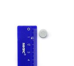 Неодимовый магнит диск 11х7,8 мм Цинк - фото 8680