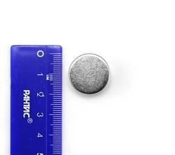 Неодимовый магнит диск 20х10 мм - фото 8747