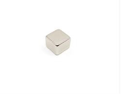 Неодимовый магнит призма 10х10х10 мм - фото 8851