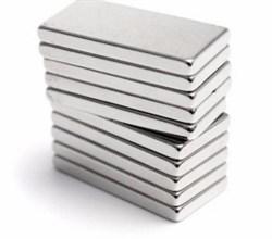 Неодимовый магнит призма 15х6х2 мм - фото 8877