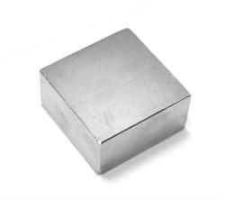 Неодимовый магнит призма 50х50х25 мм - фото 8960