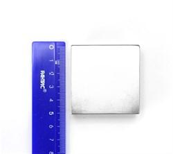 Неодимовый магнит призма 51х51х25 мм - фото 8961