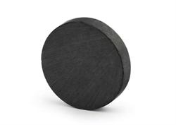 Ферритовый магнит диск 15х3 мм, Y35 - фото 8982