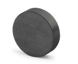 Ферритовый магнит диск 25х3 мм, Y35 - фото 8986