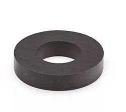 Ферритовый магнит кольцо 45х22х9 мм - фото 8993