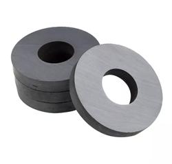 Ферритовый магнит кольцо 72х32х10 мм - фото 8996