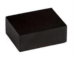 Ферритовый магнит прямоугольник 22,2х17х8,5 мм - фото 9003