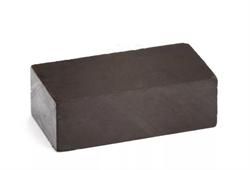 Ферритовый магнит прямоугольник 40х20х12 мм - фото 9008
