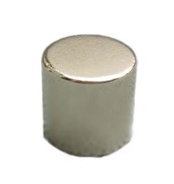 Магнит AlNiCo (ЮНДК) диск 10х15 мм - фото 9013