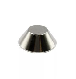 Неодимовый магнит конус 15/8х6 мм - фото 9034