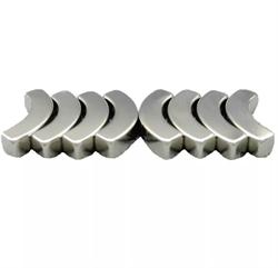 Неодимовый магнит сегмент 10х5х180/5 мм - фото 9038