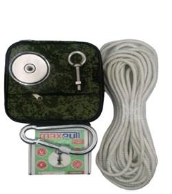Комплект: Поисковый магнит F-120 MaxPull + сумка + веревка 20м - фото 9352