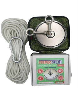 Комплект: Поисковый магнит F-600х2 MaxPull + сумка + веревка 20м - фото 9444