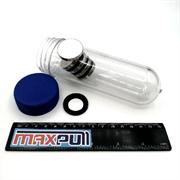 Неодимовые магниты 30х5 мм, диски, MaxPull, набор 5 шт. в тубе