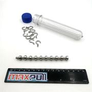 Магнитные крепления с крючком E10, MaxPull, набор 10 шт. в тубе