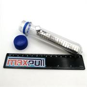 Неодимовые магниты 10х10х5 мм, прямоугольники, MaxPull, набор 20 шт. в тубе