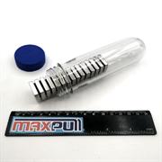 Неодимовые магниты 20х20х5 мм, прямоугольники, MaxPull, набор 15 шт. в тубе