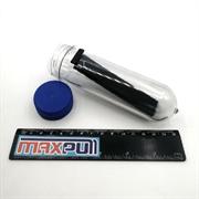 Неодимовые магниты 20х6х2 мм, N50 (black), прямоугольники, MaxPull, набор 50 шт. в тубе