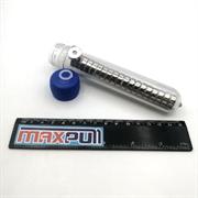 Неодимовые магниты диски 15х5 мм с зенковкой 4,5/10, MaxPull, набор 20 шт. в тубе