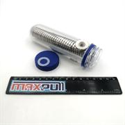 Неодимовые магниты диски 20х3 мм с зенковкой 4,5/10, MaxPull, набор 30 шт. в тубе