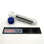 Неодимовые магниты диски 10х3 мм с зенковкой 3,5/7, MaxPull, набор 30 шт. в тубе