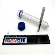 Неодимовые магниты 8х2 мм, диски, MaxPull, набор 50 шт. в тубе