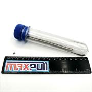 Неодимовые магниты 3х4 мм, прутки, MaxPull, набор 50 шт. в тубе