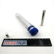 Неодимовые магниты 10х20 мм, прутки, MaxPull, набор 5 шт. в тубе