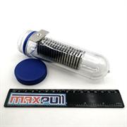Неодимовые магниты 35х15х3 мм с зенковкой 4/8, MaxPull, набор 20 шт. в тубе