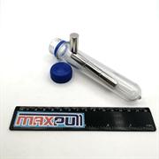 Неодимовые магниты 12х25 мм, прутки, MaxPull, набор 4 шт. в тубе